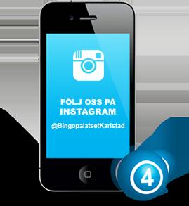 Följ Bingopalatset på Instagram
